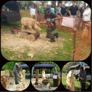 schnitzen mit der kettens ge chainsaw carving dirk rudolf bildhauerei startseite. Black Bedroom Furniture Sets. Home Design Ideas