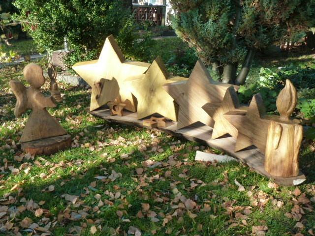 Schnitzen mit der kettensäge chainsaw carving dirk